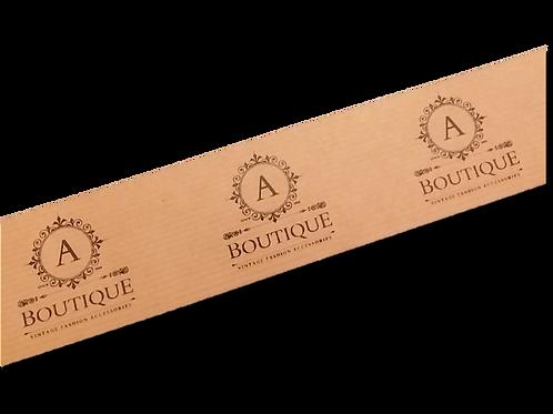 Cinta adhesiva Kraft impresa con su logo, 50 mm