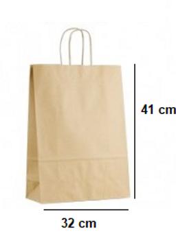 Bolsa con Asas 32x41x13 cm de base