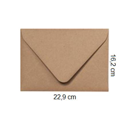 Sobre Kraft 22,9 x 16,2 cm