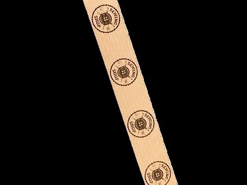 Cinta adhesiva Kraft impresa con su logo, 18 mm