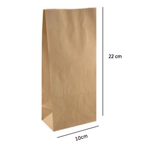 50 Bolsas sin Asas, 10x22x6 cm