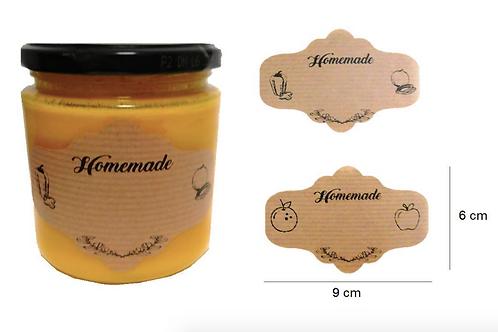 Etiquetas Homemade para botes de conservas