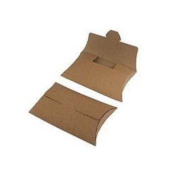 Caja pillow con solapa 10,4 x 7,5 x 2,1 cm