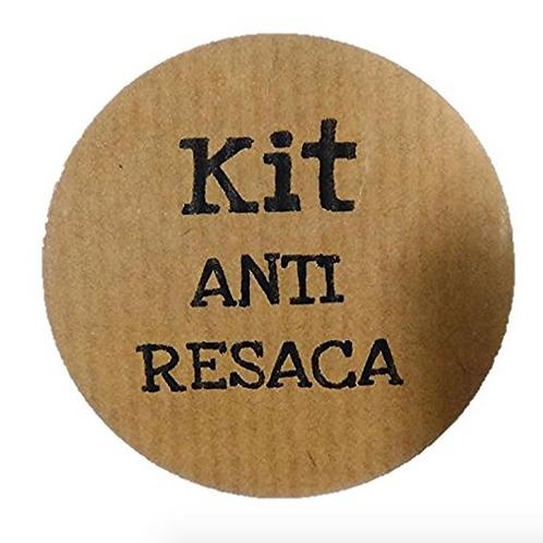 "100 Etiquetas adhesivas ""Kit Anti-Resaca"""