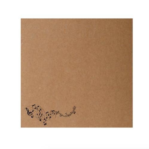 Sobre impreso motivo musical (15 x 15 cm)