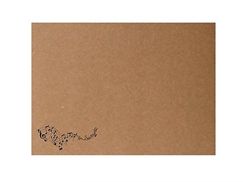 Sobre impreso motivo musical (18,5 x 13,3 cm)