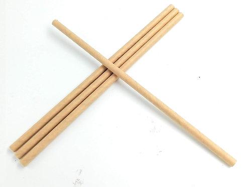 Pajitas - Straw- de papel kraft