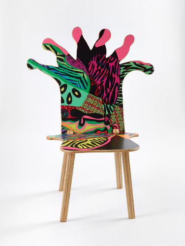 Coral Polyp Chair Front #1