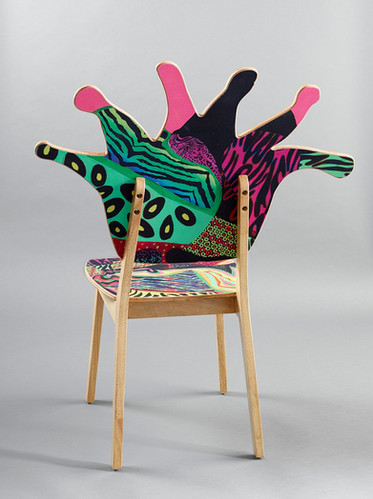 Coral Polyp Chair Back #6