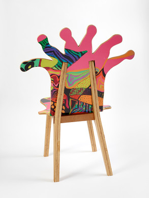 Coral Polyp Chair Back #3
