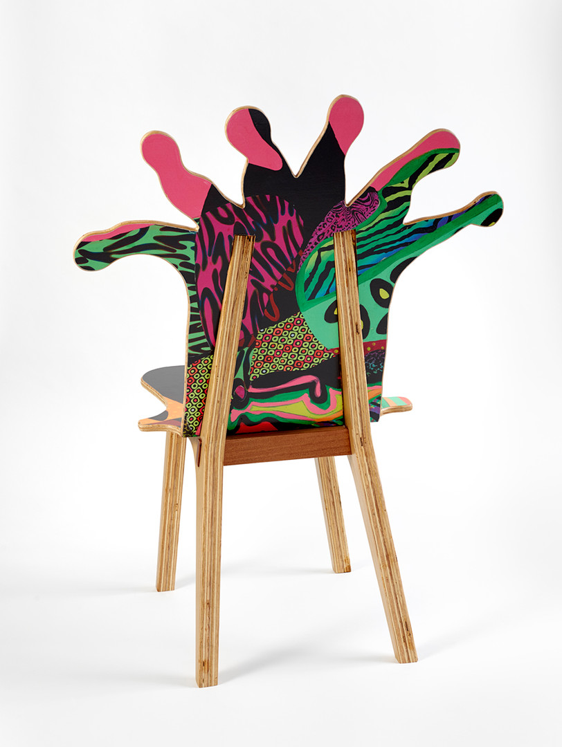 Coral Polyp Chair #1 Back