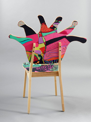 Coral Polyp Chair Back #5