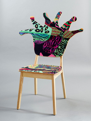 Coral Polyp Chair Front #6