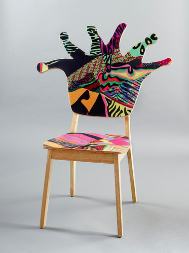 Coral Polyp Chair Front #7