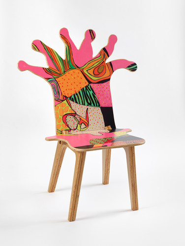 Coral Polyp Chair Front #2