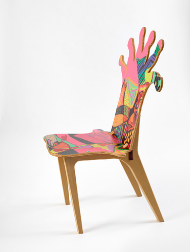 Coral Polyp Chair #3 Side