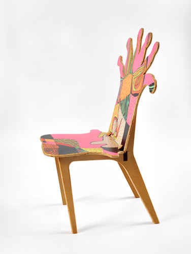 Coral Polyp Chair Side #2