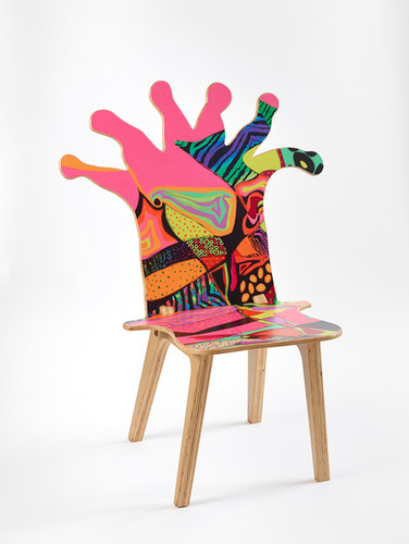 Coral Polyp Chair Front #3