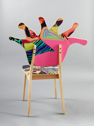 Coral Polyp Chair Back #4