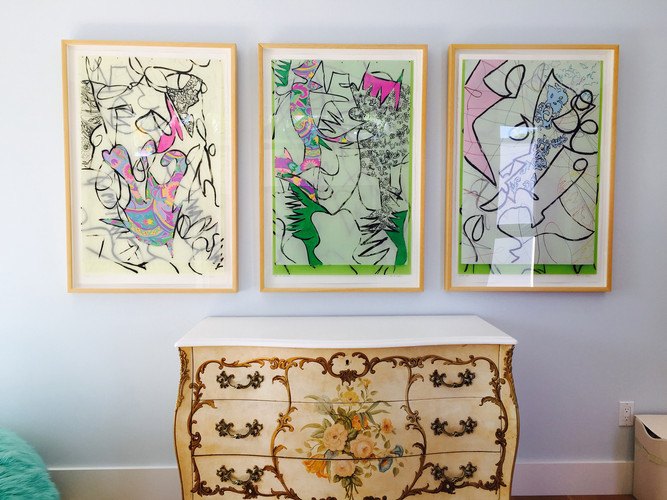 Installation private collection Miami