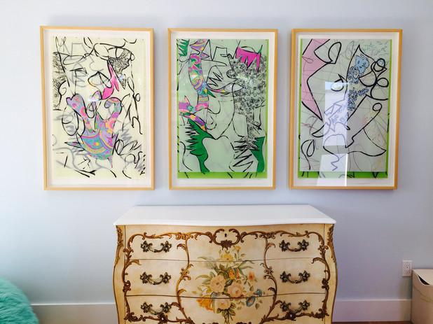 Installation private collection Miami