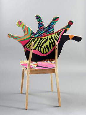 Coral Polyp Chair Back #7