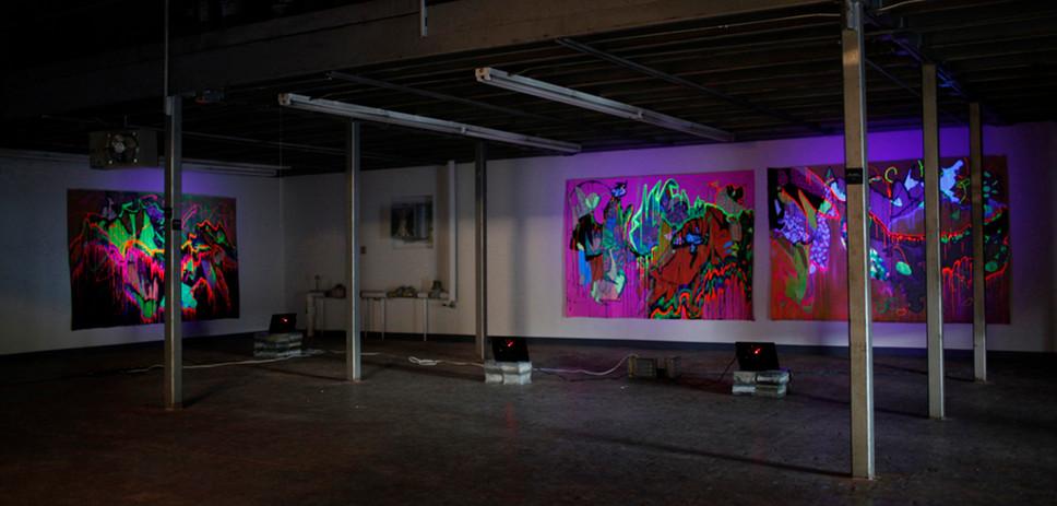 Illuminated Exhibition at Bottle Works Johnstown, PA