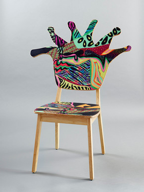 Coral Polyp Chair Front #4