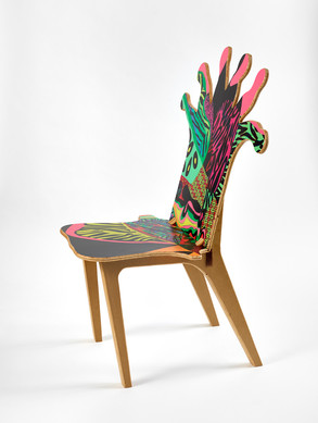 Coral Polyp Chair Side #1