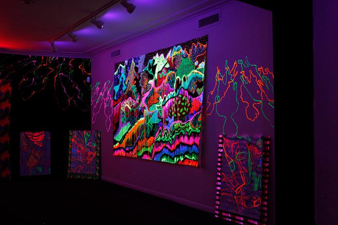 Installation Shot Art & Culture Center Hollwood