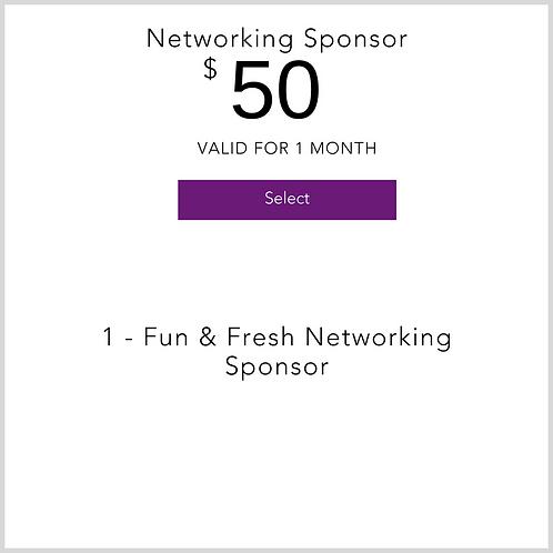 Networking Sponsor