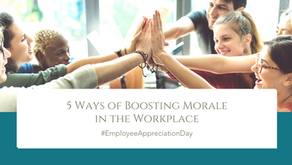 5 Ways of Boosting Morale in the Workplace