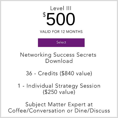 Level III Membership