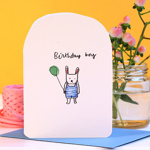 BIRTHDAY BOY CARD x 6