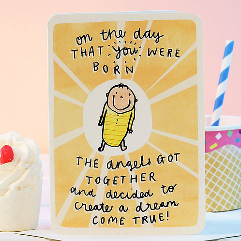 ON THE DAY THAT YOU WERE BORN CARD x 6