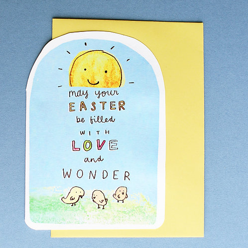 EASTER LOVE CARD x6