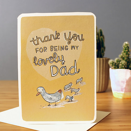 LOVELY DAD CARD