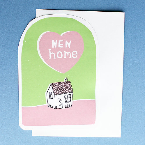NEW HOME CARD x6