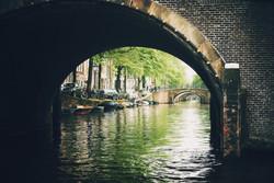 As sete pontes de Amsterdam