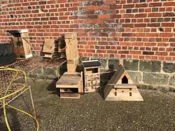 DIY owl nest boxes...