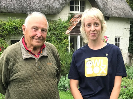 Blog: The Owl Box Initiative meets with ornithologist, Major (Rtd) Nigel Lewis…
