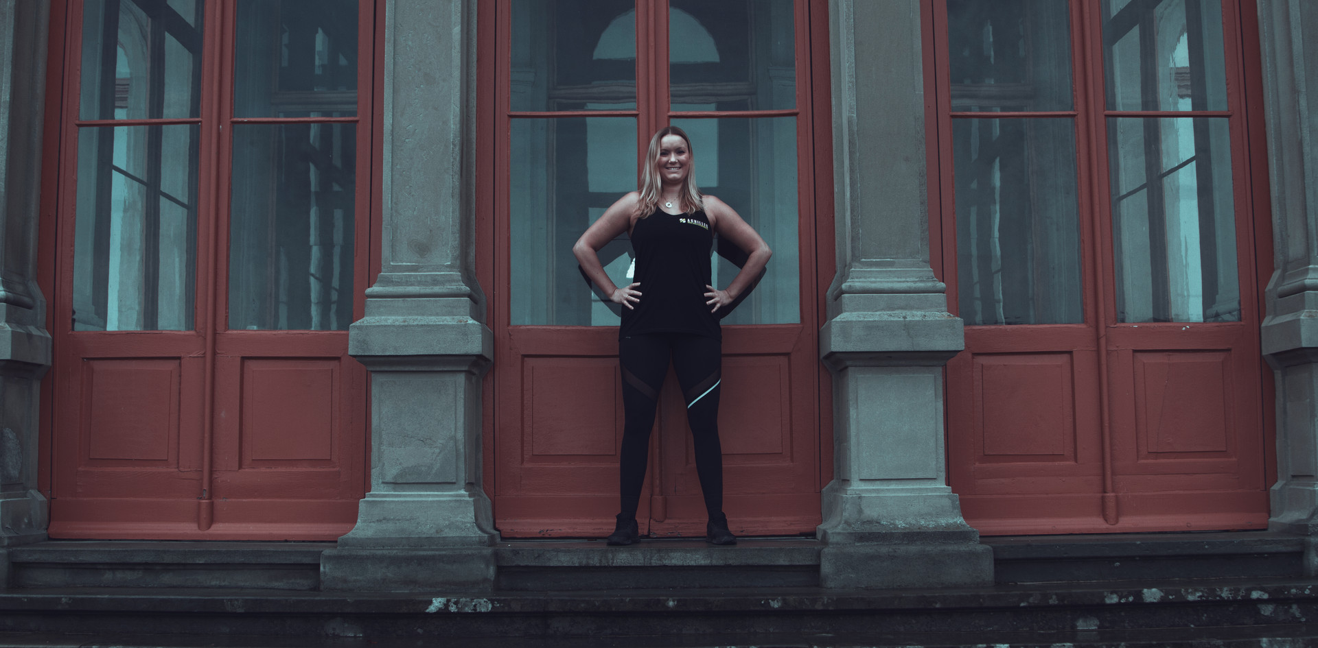 Trainerin Vanessa