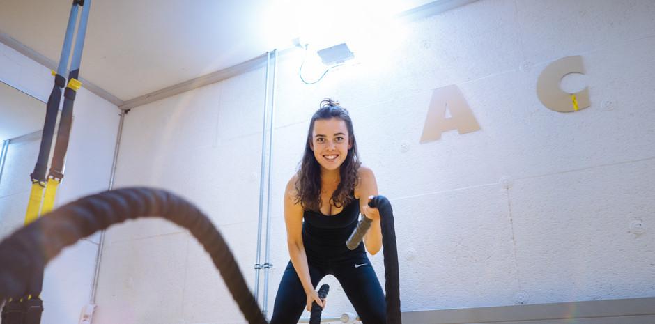 Trainerin Fiona