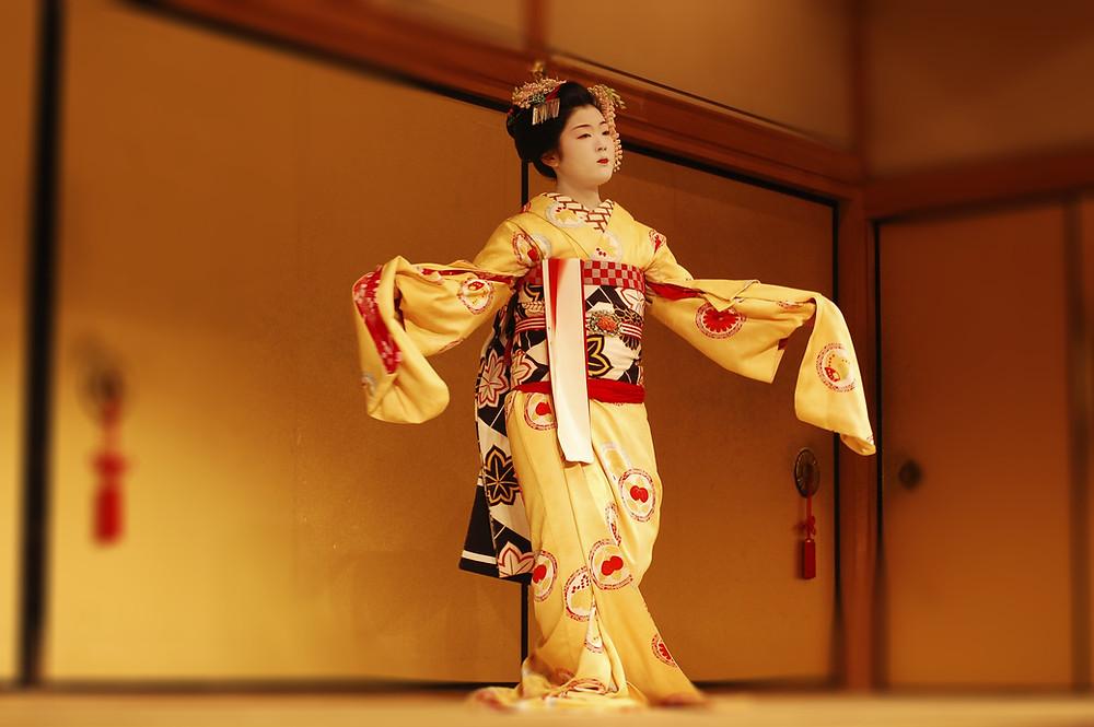 Illustration: Girl in a kimono (Image credit: Wix)