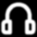 An icon represent headphones.