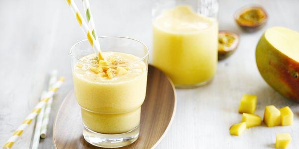 Смузи белковый манговый коктейль