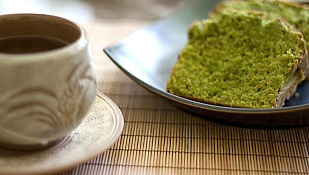 Подорожник с зеленым чаем