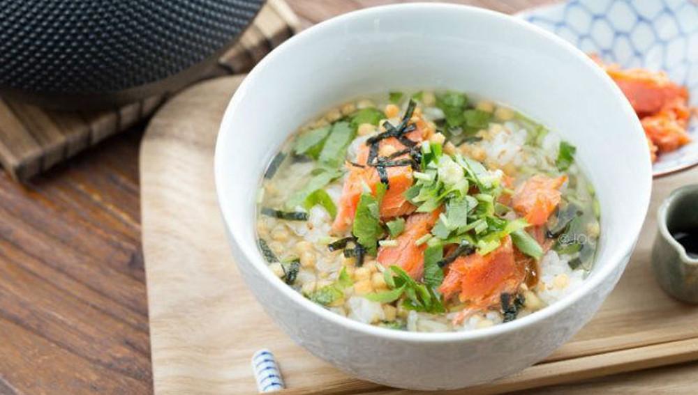 Очазуке - суп из зеленого чая
