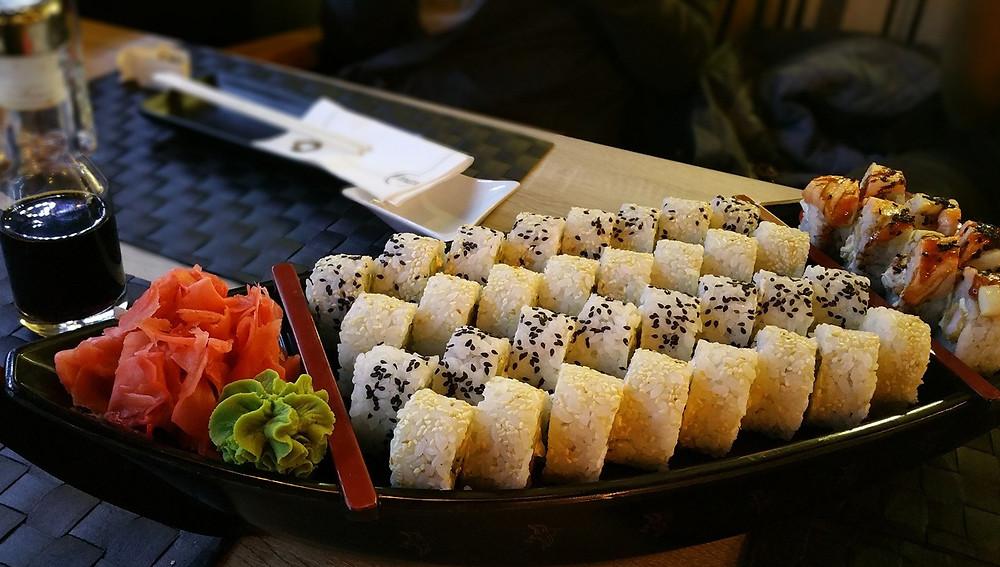 самых популярных видов суши