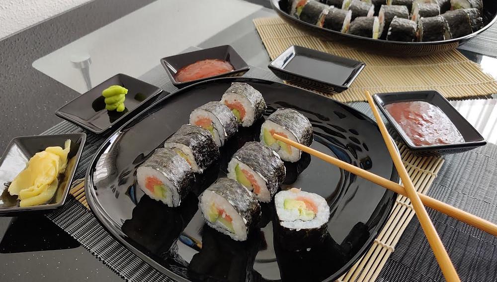 Япония - домашние суши